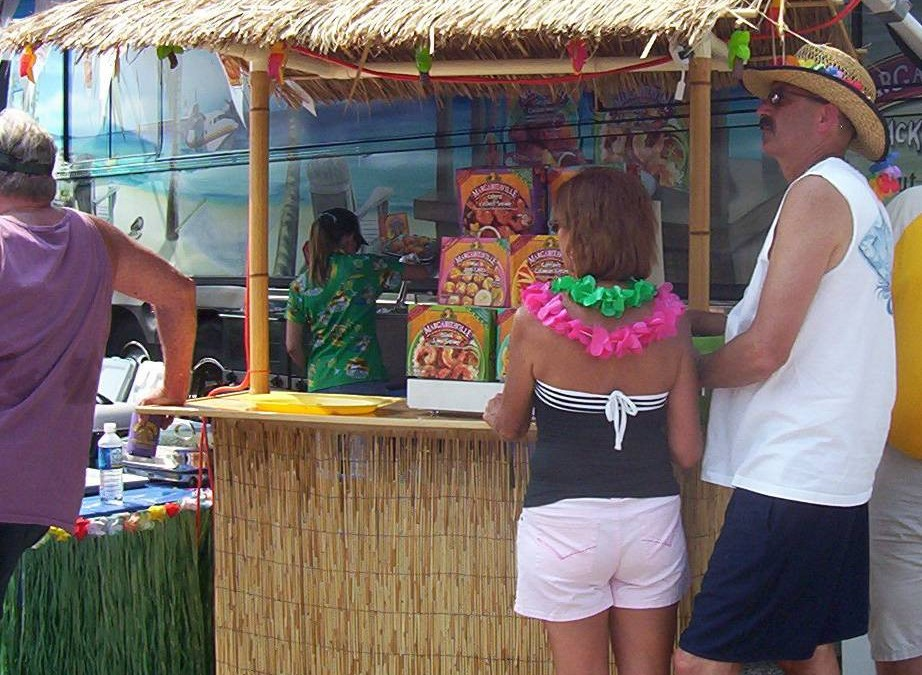 Parrothead Portable Tiki Bar Memories