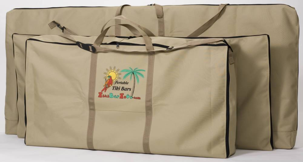Portable Tiki Bar Custom Carry Bags